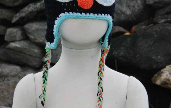 Crochet owl hat — $15